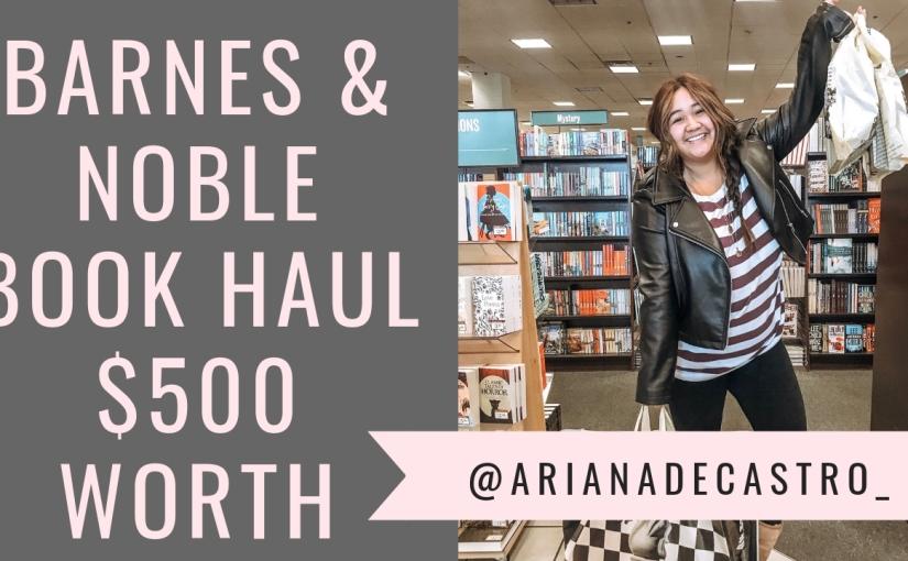 Barnes & Noble Black Friday Book Haul2019
